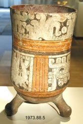 Codex-Style Tripod Vessel