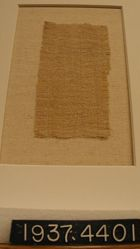 Fragment of Plain Cloth