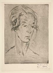 Frauenkopf (Head of a Woman)
