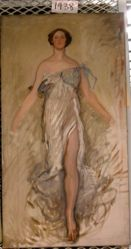 Figure Study, possibly for an Allegorical Figure