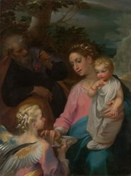 The Rest on the Flight into Egypt, known as the Madonna della Pappa