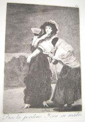 Dios la perdone: Y era su madre. (For Heaven's Sake: It Was Her Mother.), pl. 16 from the series Los caprichos