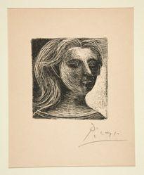 Tête de femme, face et profil (Head of a Woman)