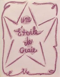 Une étoile de craie (A Chalk Star)