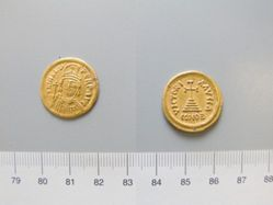 Gold solidus of Heraclius from Constantinople