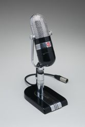 Microphone and Stand, Model No. 77-B1