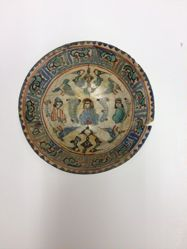 Bowl with Three Figures