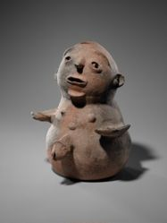 Anthropomorphic Male Vessel (Kronkronbale)