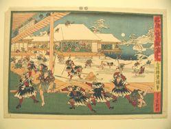 Chushingura, Act 11: Night Attack on Moronao's House