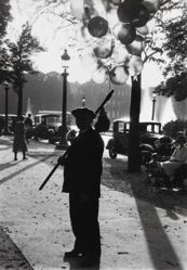 Balloon vendor at Champs Elysees, Paris