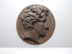 Georges Cuvier: bronze cast