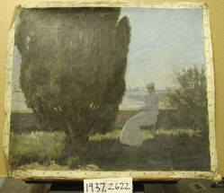 Landscape Study with a Seated Figure