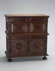 Chest of Drawers with Doors