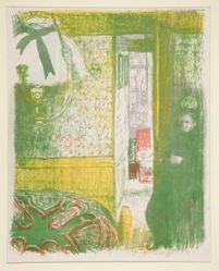 Intérieur à la suspension (Interior with Hanging Lamp), from Paysages et Intérieurs (Landscapes and Interiors)