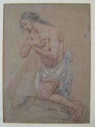 Kneeling Male Figure in Prayer