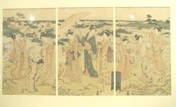 Women Catching Suzu-mushi (crickets)