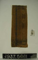 Fragment of fancy cloth
