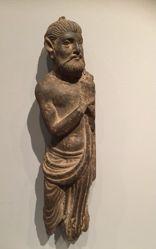 Boddhisattva sculpture