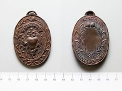 Bronze reproduction of the Captor's Medal or Major Andre's medal