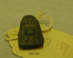 Egyptian amulet: jewelry