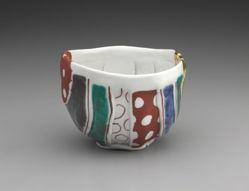 Polka-dot Tea Bowl