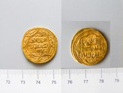 1 Dinar with Abu Sa'id Bahadur Khan