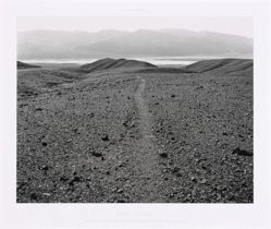 Death Valley: Ancient Footpath from Nevares Springs to the Lake, from the series Ice Age