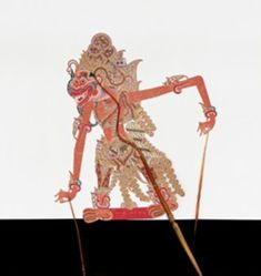 Shadow Puppet (Wayang Kulit) of Baruna, from the consecrated set Kyai Nugroho