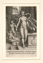 Leda with the Swan and Hercules as a Child, from The Labors of Hercules