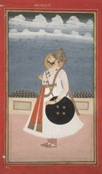 Portrait of Maharaja Bakhat Singh of Nagaur