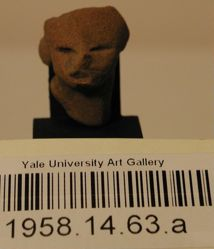 Fragment of figurine head