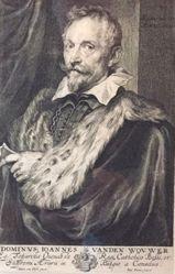 Joannes Vanden Wouwer, from the series Icones principum virorum (Iconography)