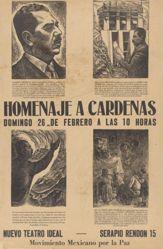 Homenaje a Cárdenas (Homage to Cárdenas)