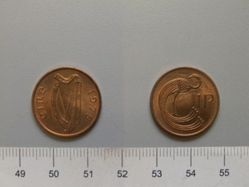 1 Pence from Ireland