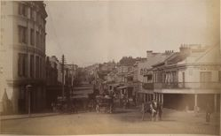 William Street from Boomerang Street, Sydney, from the album [Sydney, Australia]