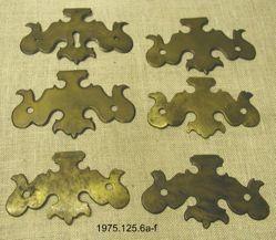 Brass Furniture Plates