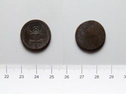 Token with celtic cross