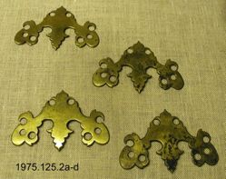 Brass Furniture Plates