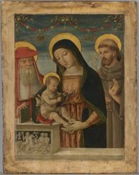 Virgin and Child with Saints Jerome and Francis of Assisi