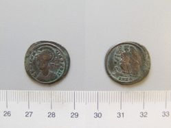 Nummus of Constantine I for Constantinopolis from Nicomedia