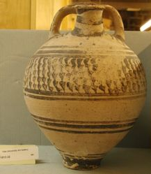 False-neck jar (stirrup jar)
