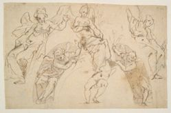 Studies of Angels and Cupids