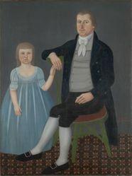 Comfort Starr Mygatt (1763–1823) and Lucy Mygatt (1794–1885)