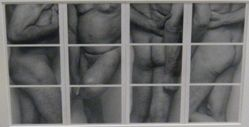 Untitled (Four Paneled Frieze Polaroid #2)