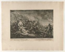 The Battle of Bunker's Hill Near Boston (La Bataille de Bunker's Hill pres de Boston.)