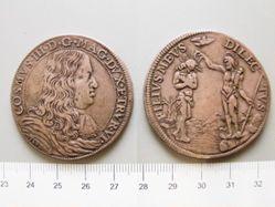 Piastra from Florence for Cosimo III de' Medici