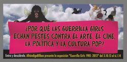 ¿Por Qué las Guerrilla Girls Echan Pestes Contra el Arte, el Cine, la Politica y las Cultura Pop?, from the Guerrilla Girls' Portfolio Compleat 2012–2016 Upgrade