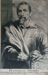 Portrait of Franciscus Snyders