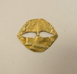 Mask with Oval Eye Cutouts