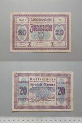 20 Kronen from Wien, Notgeld